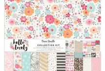 Hello Lovely Collection - Cocoa Vanilla Studio / Layouts and inspiration using the Hello Lovely collection from Cocoa Vanilla Studio! See the full Hello Lovely collection here: http://cocoavanilla.com.au/product-category/hello-lovely/