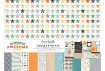 Made Of Awesome Collection - Cocoa Vanilla Studio / Layouts and inspiration using the Made Of Awesome collection from Cocoa Vanilla Studio! See the full Made Of Awesome collection here: http://cocoavanilla.com.au/product-category/made-of-awesome/