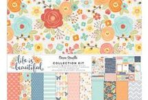 Life Is Beautiful Collection - Cocoa Vanilla Studio / Layouts and inspiration using the Life Is Beautiful collection from Cocoa Vanilla Studio! See the full Life Is Beautiful collection here: http://cocoavanilla.com.au/product-category/life-is-beautiful/