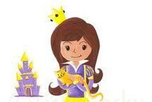 Les Miniz - filles / Miniz [miniz] n.m 1. petit personnage haut en couleurs rempli de joie et de malice. Parfait pour faire rêver les enfants, le Miniz trouvera toujours à être adopté!