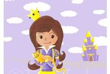 Les Miniz - posters - filles / Miniz [miniz] n.m 1. petit personnage haut en couleurs rempli de joie et de malice. Parfait pour faire rêver les enfants, le Miniz trouvera toujours à être adopté!