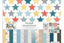 You Rock Collection - Cocoa Vanilla Studio / Layouts and inspiration using the You Rock collection from Cocoa Vanilla Studio!
