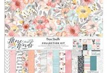 More Than Words collection - Cocoa Vanilla Studio / Layouts and inspiration using the More Than Words collection from Cocoa Vanilla Studio!  *coming January 2018*