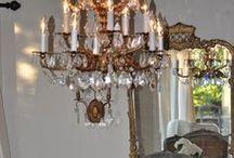 "Interior Motivations / Interior Design, Chandeliers, Linens, Color, Flooring, Furniture / by ""Hello, Dollye!"""