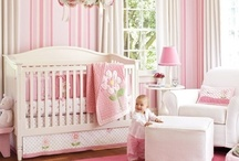 Nursery / Here comes baby! Nursery decor does not last long, but you can have some fun with it - the baby can't protest yet!  / by Beatrice Lawson