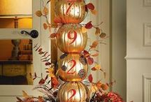 Handmade for.... Fall / welcome fall and Thanksgiving Holiday