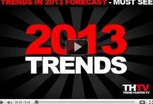 Trends 2013 / Trends op het gebied van #marketing #social media #MKB #financiën #technologie #netwerken #beveiliging