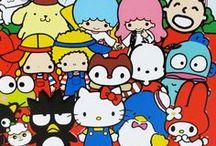 Hello kitty & friends-Sanrio / by Jenny Bernal