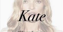 Kate Moss / So iconic, she needs her own board.