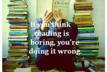 Books / I cannot emphasize enough how important it is that one keep reading.  / by Elana Fiorini