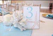 Coastal Wedding Decor / Ideas and inspiration for your beach wedding!