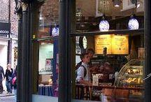 Coffee Break / coffee, cafe, bistro, starbucks, bakery,  / by Rachel Whelton