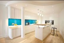 Contemporary Kitchens / A style which is reflected in current fashion, contemporary design of the moment.