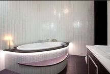 Glamorous Bathrooms / Eye catching design resulting in captivating interiors.