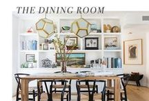 The Dining Room / Everything from recipes and bar carts to spoons and glasses. / by AllModern