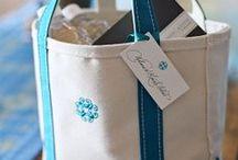 Beach Wedding Welcome Bags / Cute ideas and inspiration for your beach wedding welcome bags.