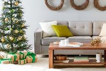 A Modern Little Christmas / Make a seasonal statement in your winter wonderland with bold and eclectic holiday designs. Punchy patterns, metallic details, and warm textures offer striking twist on the lodge look—match delightful details with a faux evergreen for a space that's both en vogue and inviting. Find all your  holiday ideas + inspiration here! / by AllModern