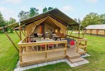 Glamping / Glamuröses Camping für die ganze Familie! http://www.ferienparkspecials.de/glamping.html