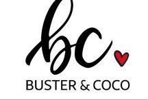 Buster & CoCo / www.etsy.com/au/shop/BusterAndCoco