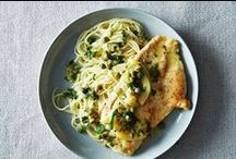 "Fast and Fresh Chicken Recipes / ""Tastes like chicken"" doesn't have to mean boring. Try these recipes for the delicious new takes on everyone's favorite lean protein, and stay for the tasty, easy new takes on chicken recipes galore. No mention of the infamous wedding chicken required. / by SELF Magazine"