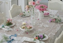 cottage and shabby chic decor I love / by Judy Bonds