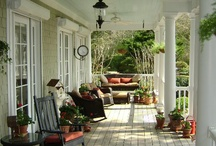 Great Porches and Outdoor  Spaces / by Judy Bonds