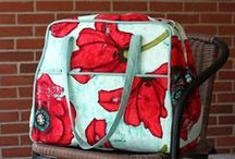 Amy Butler's Weekender Travel Bag / Gathering my courage to tackle this bag with all the eye candy, hints and tip I can find  / by Melinda Greer from The6greers.com