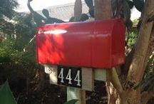 Mailboxes / The Art of Writing a #Letter, #Rustic #Mailboxes, #Handwritten and treasured words of kindness. #typography / by Caroline Gerardo