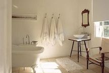 Bathrooms Bath Tubs / Soak in lavender, or mint or one of my home made tub teas. I'll draw you a bath of herbs and flowers to make your cold disappear, relax and let your cares go down the drain. #clawfoot #tubs #bath / by Caroline Gerardo