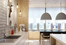 Interior / Kitchens, bedrooms, living rooms, flats, houses, mansions. Everything from the inside