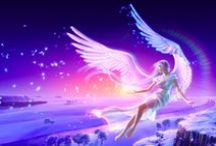 Angels / Angels are the most beautiful creatures of the sky and they are my love