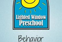 Behavior Tips & Tricks / We could always use another tip in our pocket of dealing with a variety of behaviors.  One trick doesn't work with everyone. Projects, crafts, fun ideas! Preschool, early childhood education, crafts