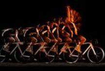 Orange et le Tour de France / Orange met en oeuvre son savoir-faire technologique et mobilise ses experts pour assurer aux organisateurs et aux médias des solutions de télécommunication fiables et performantes pendant toute la durée du Tour de France. / by Orange France