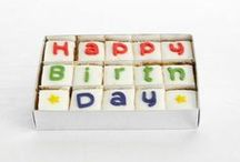 Say it with Cake / When words just aren't enough, say it with cake!  Our Say It With Cake packages allow you to spell out a heartfelt message to a loved one on bite-sized pieces of delicious, homemade cake. http://www.cakenest.co.uk/shop/say-it-with-cake