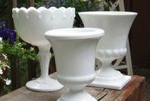 Milk Glass, White Hobnail & More / by Patti Kem
