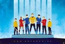 Star Trek  / I love the old series as well as the new movies that have come out. I was so glad that they did such a fantastic job.  / by Emma Potochny