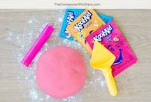 Playdough Activities / Homemade playdough is one of the easiest thing to make and there are so many ways you could play with it! These playdough activities will inspire you to make a rainbow of diy playdough in all different colors. There are also a lot of playdough recipes on here to make them different scents!