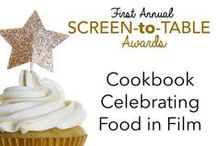 """Screen-to-Table"" Cookbook / Over the past year, food has played a starring role in films such as ""Chef"" and ""The Hundred-Foot Journey,"" as well as a supporting role adding narrative flavor to Oscar contenders including ""The Imitation Game,"" ""Boyhood"" and ""The Theory of Everything."" The many ways food was used in the films of 2014 helped spawn amusing Screen-to-Table awards. / by BakeSpace"