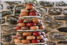 Wedding Cakes & Dessert Ideas / Wedding cakes, cupcakes, pies, sweets, and desserts.