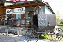 Nolensville, Tennessee / Shop the village setting for antiques, vintage items and authentic Amish goods at shops like 3 French Hens and Nolensville Feed Mill. When you're finished shopping, grab some grub at the award-winning Martin's Bar-B-Que Joint.