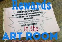 Art:Classroom Mangement / Tips, Tricks and Solutions for keeping your art room in control. Ways for art teachers to manage behavior, time, cleanup, and more!