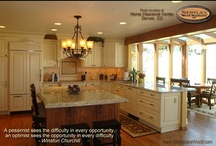 Inspiration for a Lifetime / You love your home and we hope you'll take the steps to make it your own, a personal retreat and place of comfort.  Here are some great photos of Showplace cabinetry as found in homes all across the country ... with words of wisdom for your personal enjoyment.