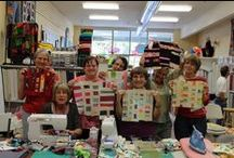 The Best Quilting Students Ever! / Pictures from quilts made by the amazing and creative students in Stacey Sharman's quilting classes.