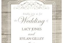 Invitations / Please choose an option for our wedding invitations on which you like best!