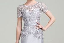 Silver Mother of the Bride Dress / if you are a mother of the bride or a guest at any wedding a silver color dress can be a very classy and timeless color to choose from for your formal event . its a color that will always be in fashion so you can wear it to other events and formal occasion