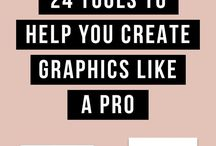 Graphic Design | Resources / Tips for designing and using programs like photoshop and illustrator. Photoshop tutorials. Illustrator tutorials.