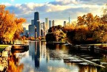 "Chicago in Fall / ""Chicago is an October sort of city"" -Nelson Algren"