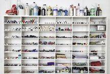 Craftroom & Studio Organization / by Live Simply by Annie