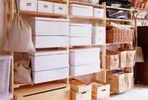 Storage Area Organization  / by Live Simply by Annie