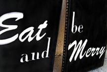 "Eat, Eat, Eat / Everywhere you look there are ""signs"" telling you to EAT!  / by PBS Food"
